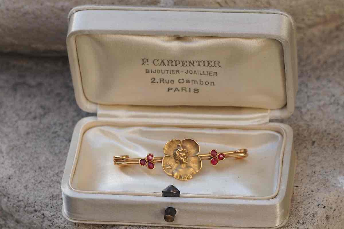 rachat bijoux art nouveau