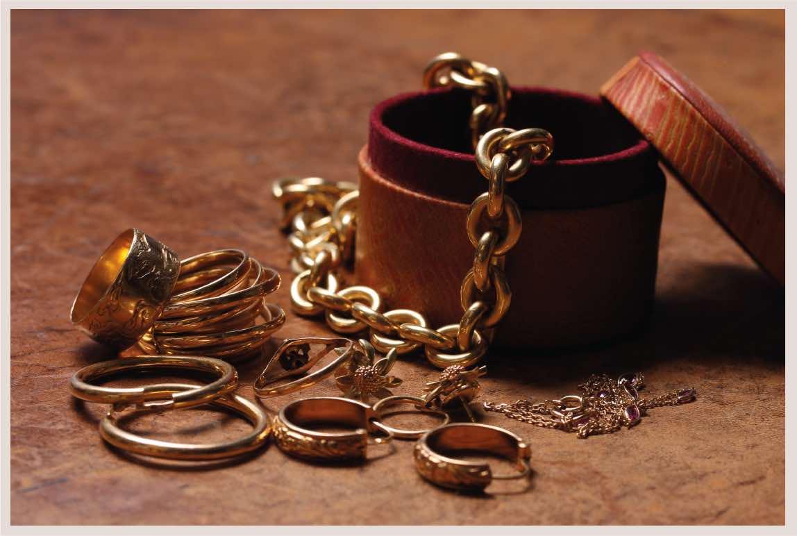 revente de bijoux en or 18K