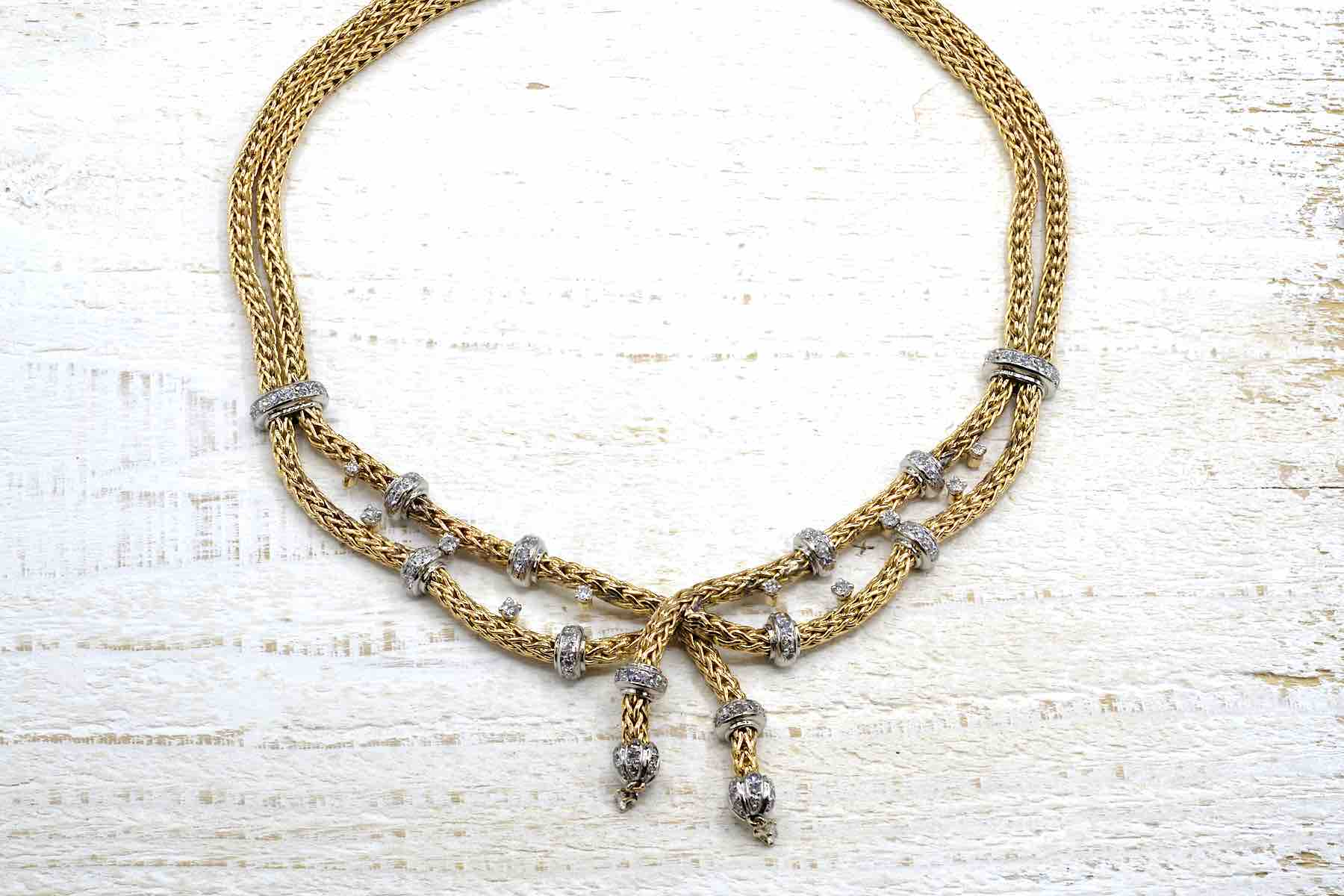 Collier Mauboussin d'occasion or 18k