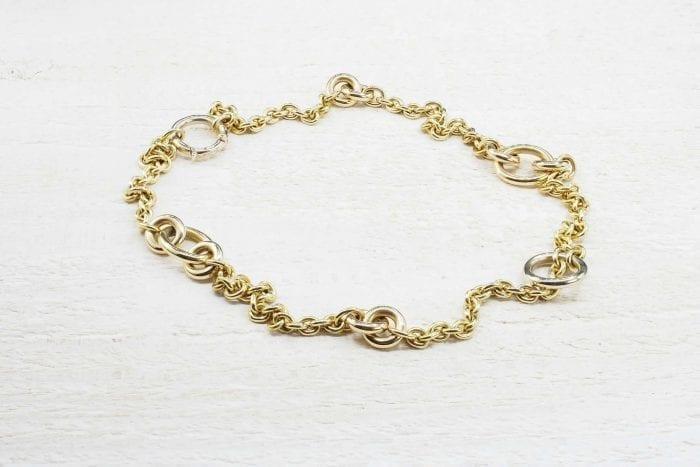 Collier chaîne Pomellato en or jaune 18k