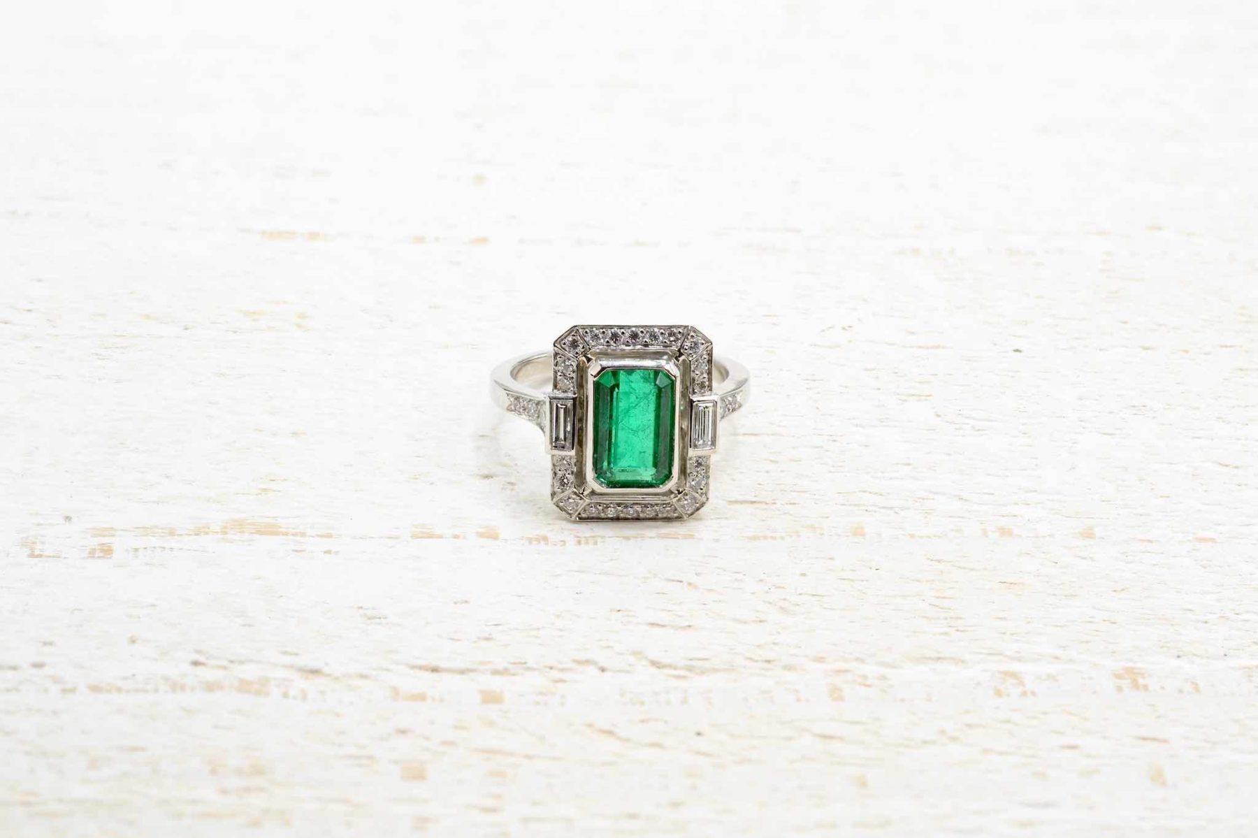 antique emerald