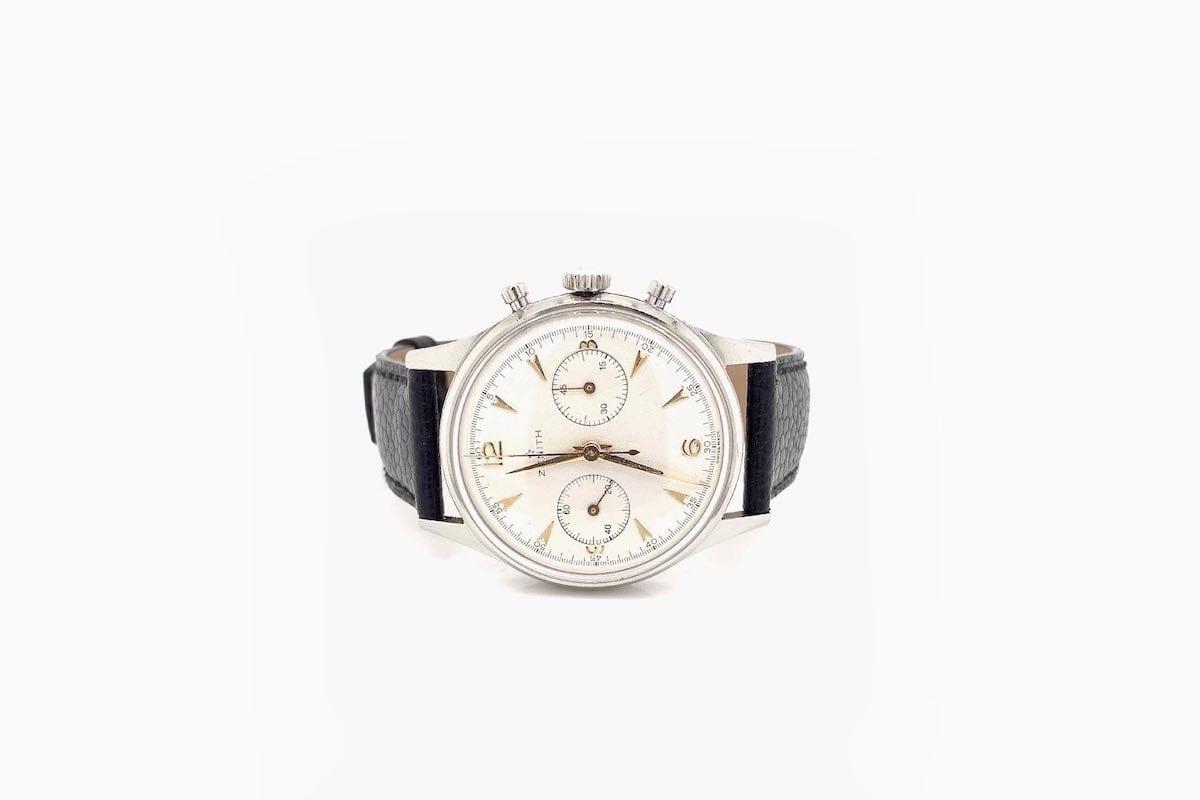 achat montres zenith vintage