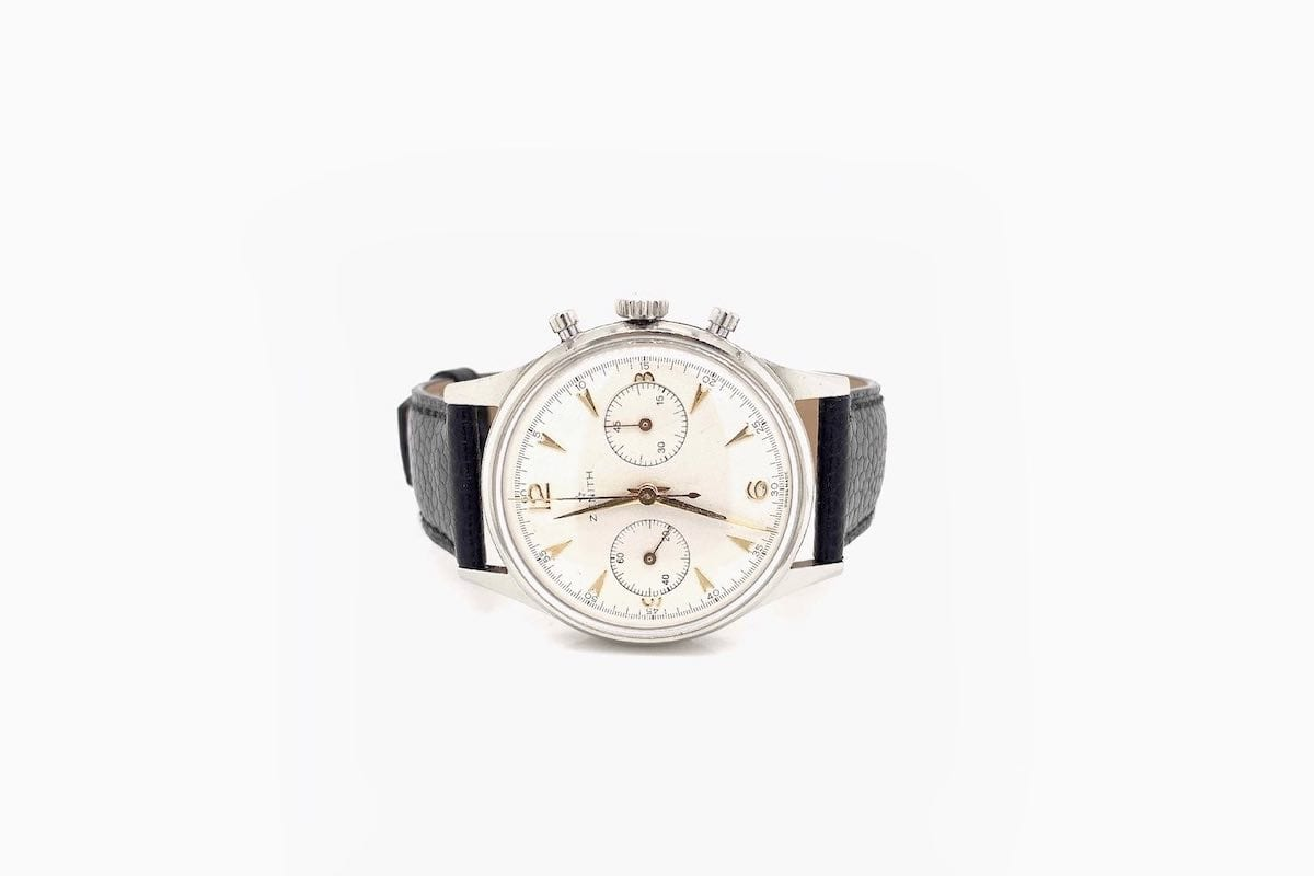 achat montre ancienne zenith