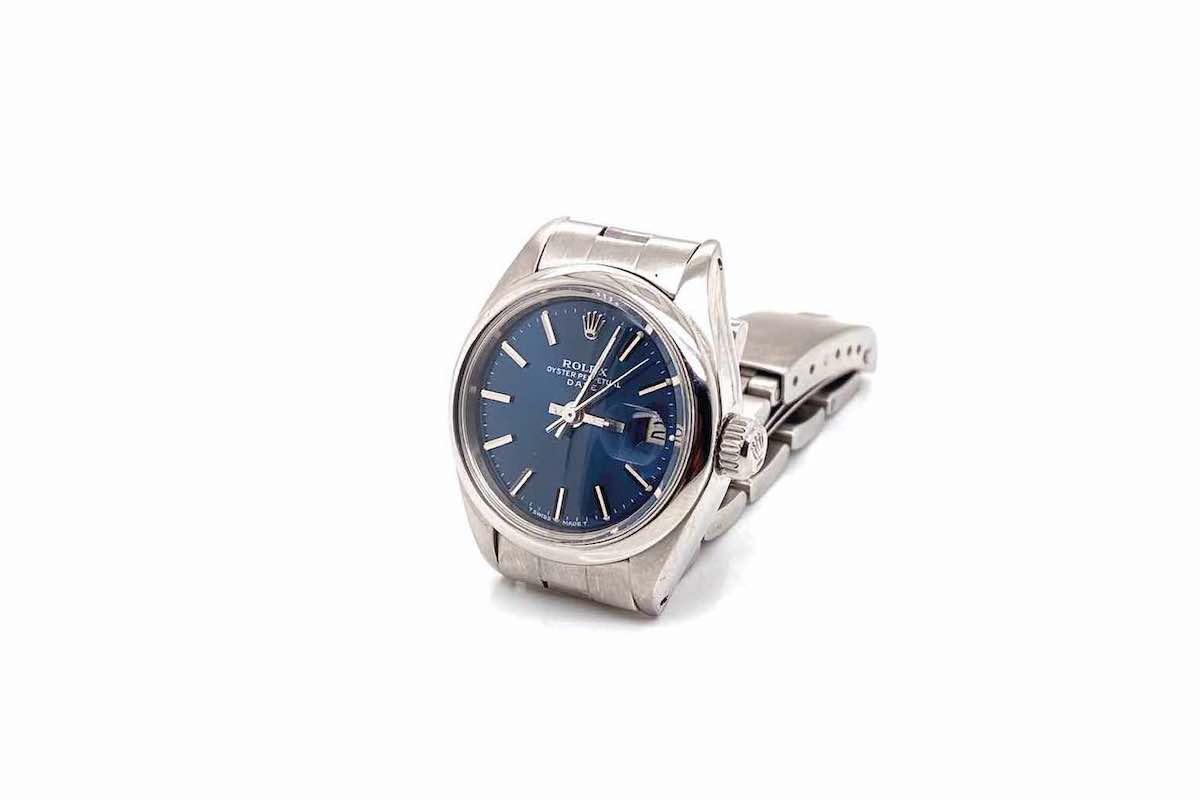 achat montres vintage rolex or blanc 18k