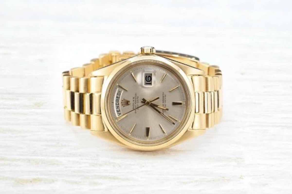 montre d'occasion or 18k