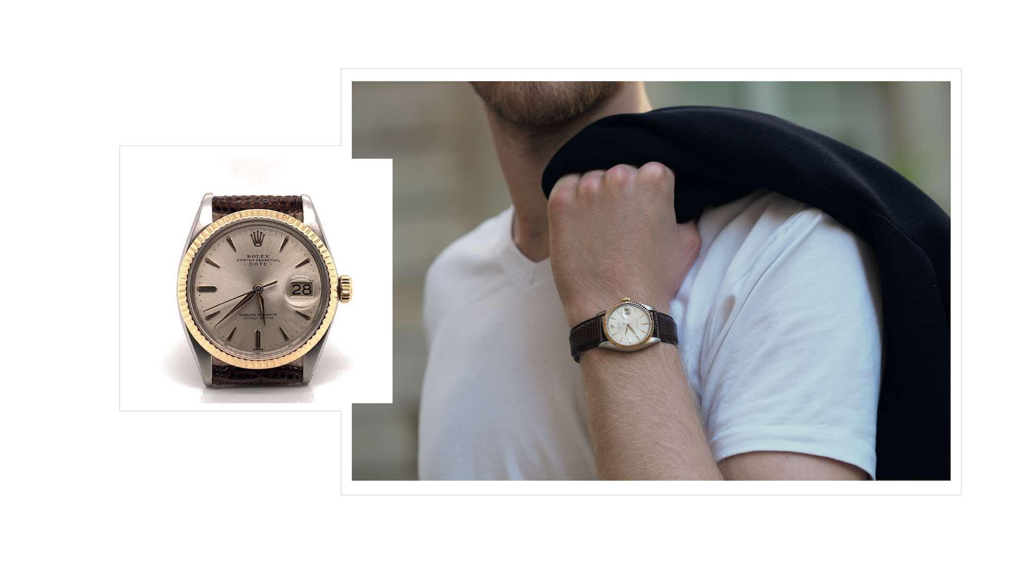 achat montre vintage