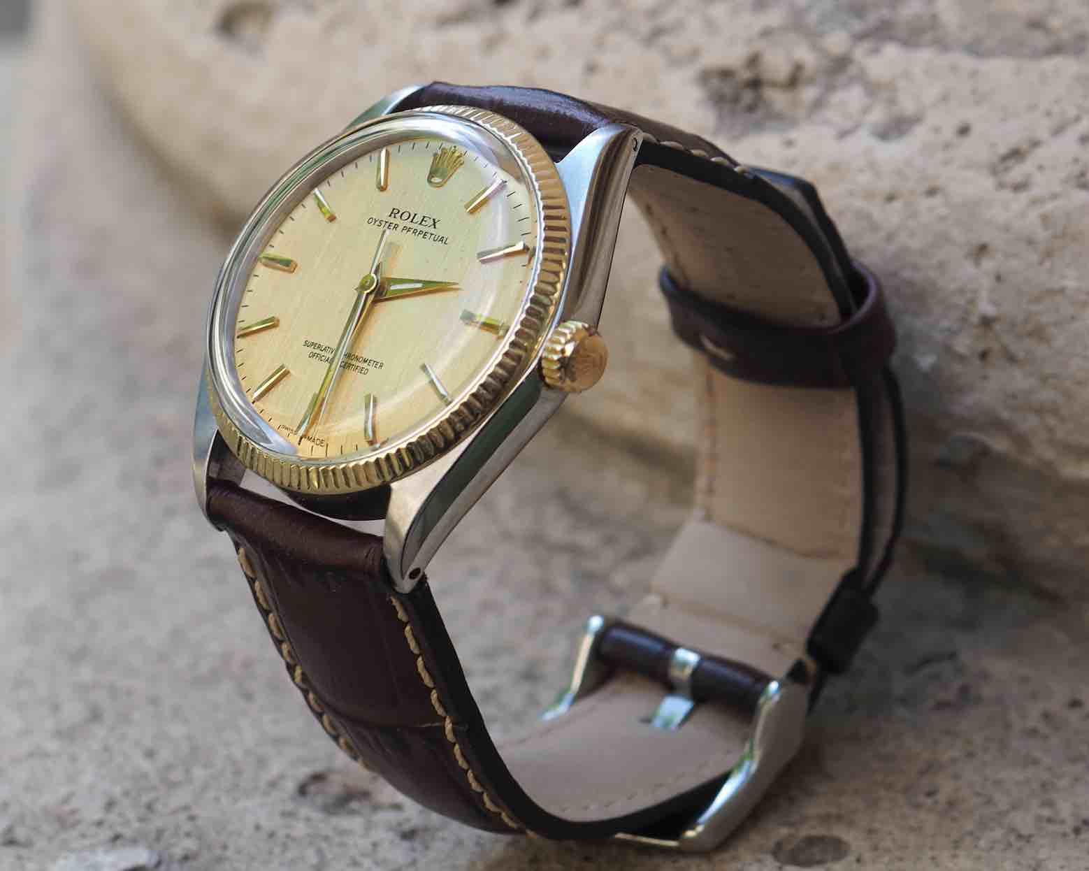 achat de montres d'occasion signées