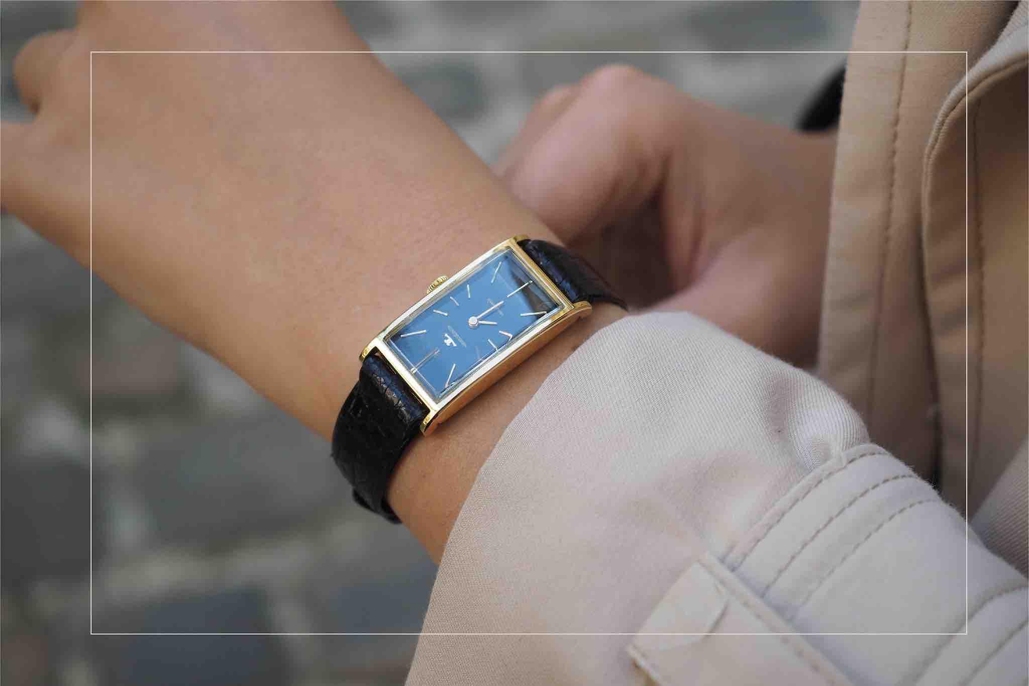 montre de luxe vintage