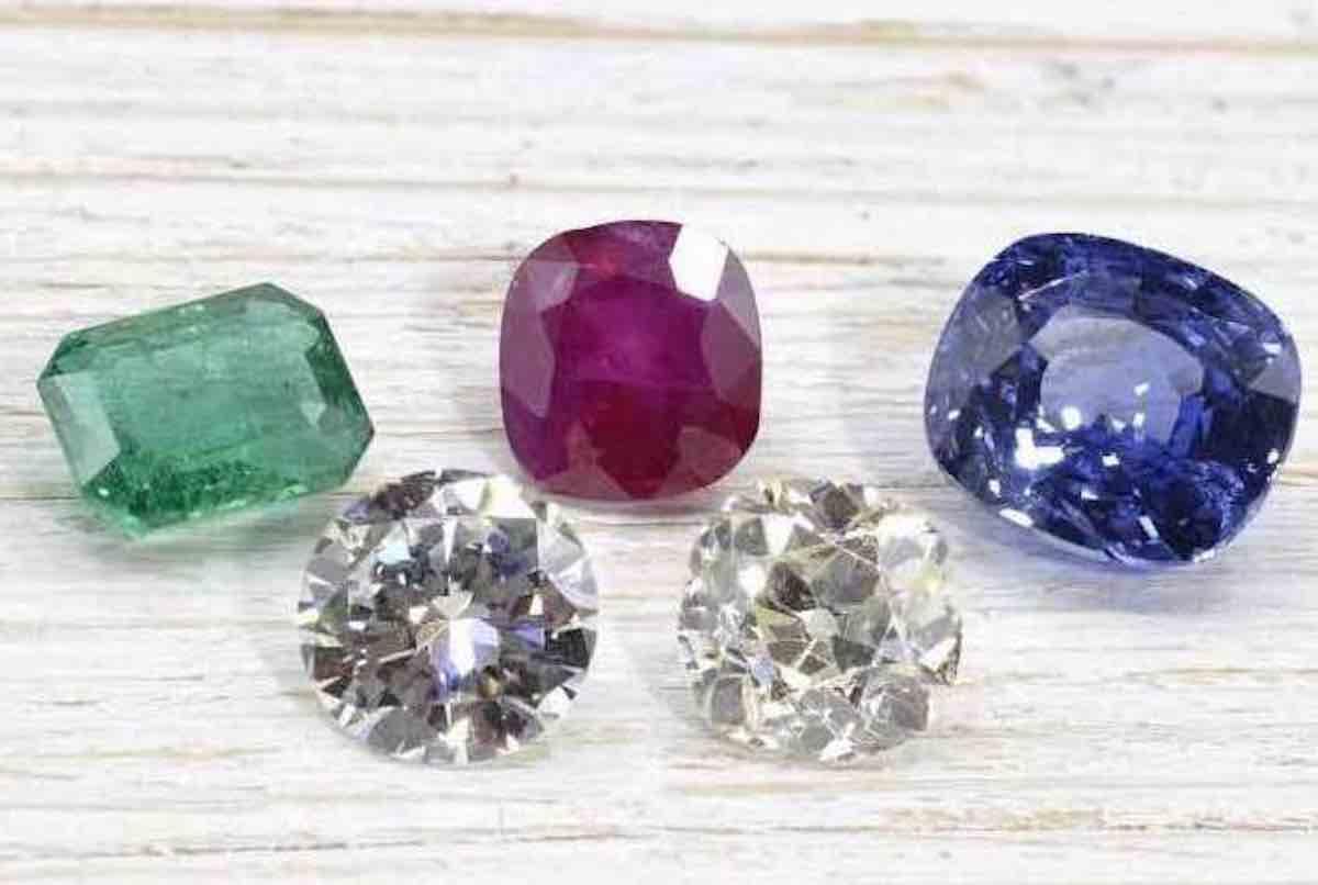 achat diamants et pierres précieuses