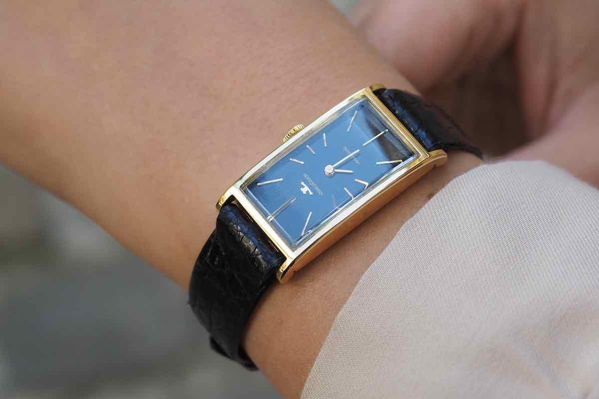 """achat montres jaeger lecoultre ancienne automatique """"Vogmatic"""""""