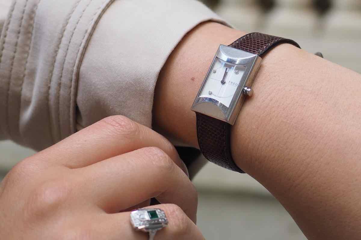 achat montres fred en acier
