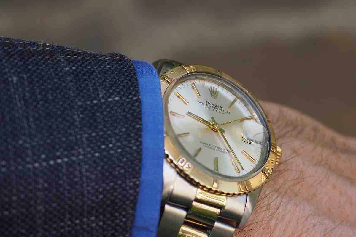 montre vintage de luxe homme