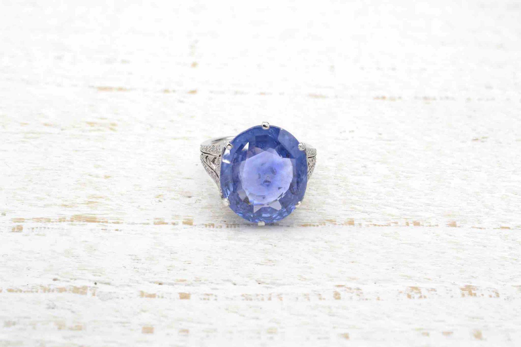 sapphir vintage ring