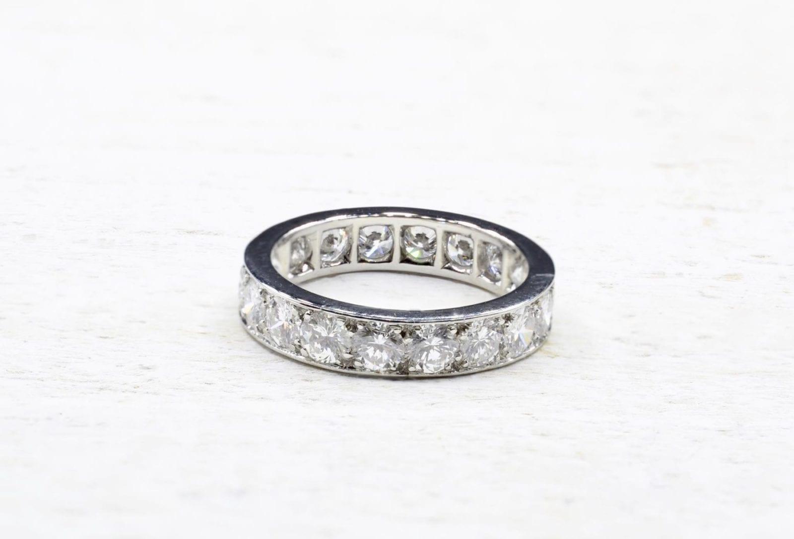 alliance diamants tour complet en platine