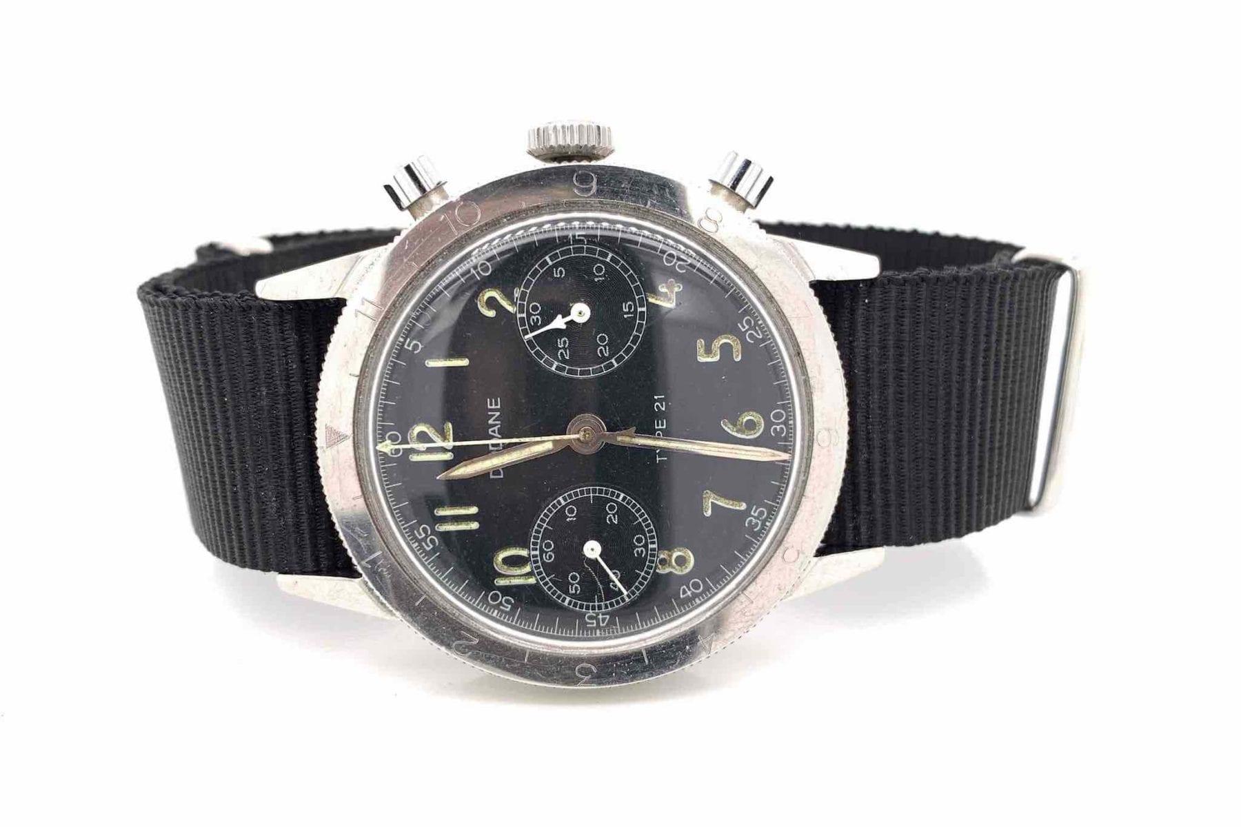 Montre Type 21 Chrono type vintage 1960